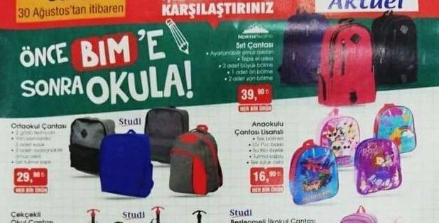 bim kırtasiye ürünleri 2019
